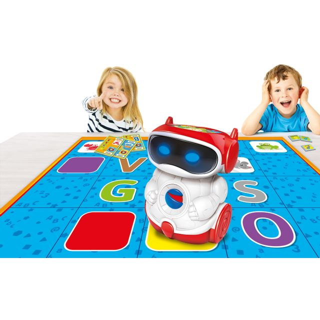 clementoni - doc robot programmable  u00e9ducatif   vente jouet  u00e9lectronique enfant
