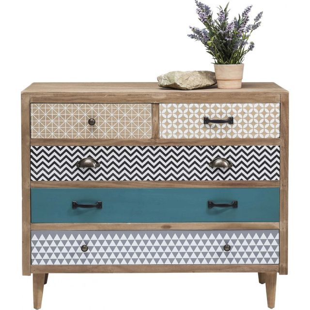 Karedesign Commode Capri 5 tiroirs Kare Design