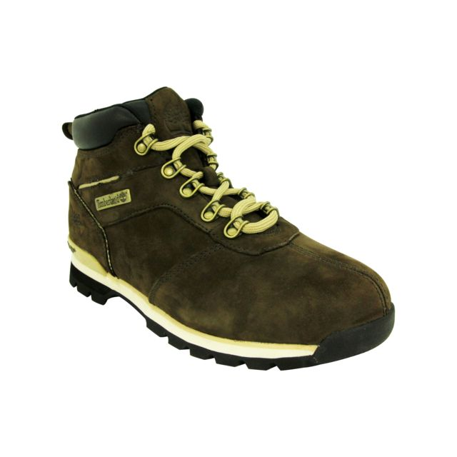 Timberland - Splitrock 2 Hiker Chaussures Bottines Homme Cuir Suede