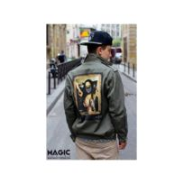 West X Yeezy Veste Militaire Magic Custom Magiccustom Kanye Vert xHzvqnX