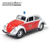 Greenlight - Collectibles - 12854 - VÉHICULE Miniature - Volkswagen Beetle - Zurich Switzerland Fire DÉPARTEMENT - Echelle 1:18