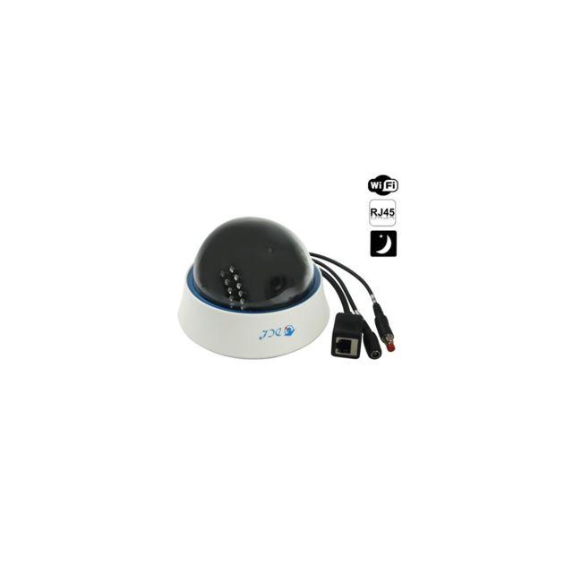 Auto-hightech camera Ip dôme sans fil P/T H.264, prise en charge de la Fonction audio bidirectionnel