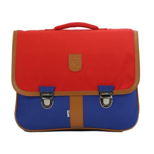 buy online 3722a 79b09 Bagtrotter - Cartable Miniséri 41cm Rouge/bleu - pas cher ...