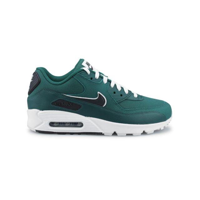 12d2b341bde Nike - Air Max 90 Essential Vert Aj1285-301 - pas cher Achat   Vente Baskets  homme - RueDuCommerce