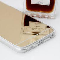 "Cabling - Coque bumper antichoc effet miroir pour iphone 6s/6 + 5,5"" or"