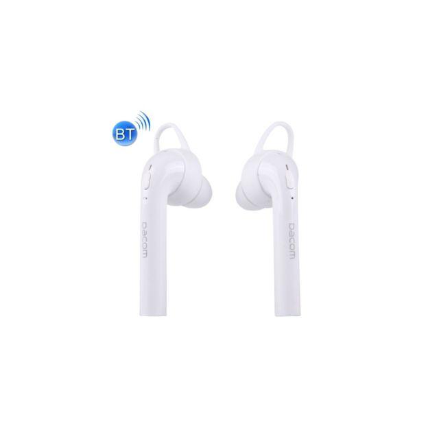 Auto-hightech Écouteurs stéréo intra-auriculaires Sans Fil Bluetooth 4.2 double oreilles avec micro pour iPhone / iPad / iPod / Pc et