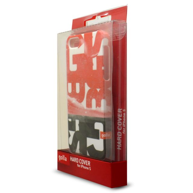 Gola coque housse extra fine pour iphone 55sse collection steve blister rouge