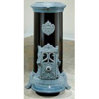Godin - Poêle à bois 3720A Bleu majolique