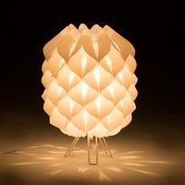 Lussiol - Lampe à poser hauteur en polypropylène 33.5cm Iris