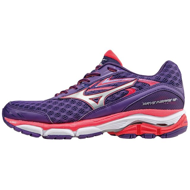 promo code 8b841 acf40 Mizuno - Mizuno Wave Inspire 12 Violette Chaussures de running femme