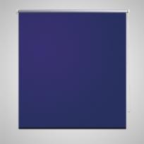 Vidaxl - Store enrouleur occultant bleu 40 x 100 cm