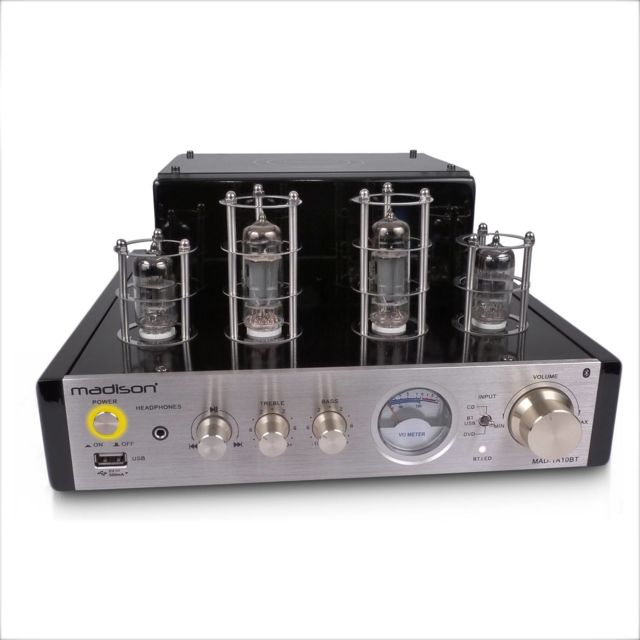 Madison Amplificateur stereo Hifi Tubes 2x25W Rms