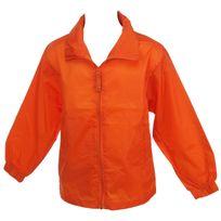 First Price - Coupe vent Windbreaker jr orange Orange 42581