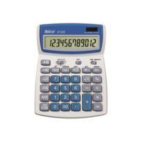 Ibico Calcul - Rexel Ibico 212X - Desktop-Taschenrechner - 12 Stellen - weiß, Blau