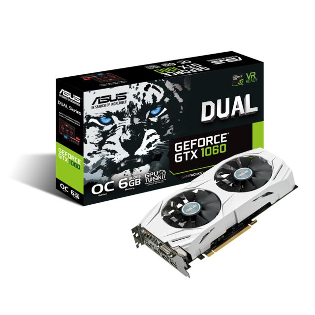 ASUS GeForce DUAL-GTX1060-O6G