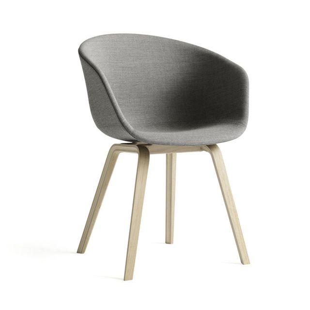Hay About a Chair Aac 23 - Remix 163 - anthracite - chêne savonné