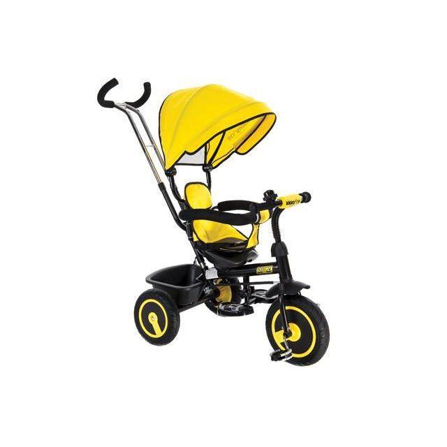 Kikka Boo Tricycle évolutif pour bébé/enfant Arrow Jaune