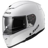 Ls2 - casque moto intégral Ff390.10 Breaker Solid blanc brillant 2XL