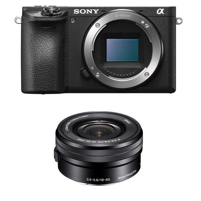 Sony Pack Alpha 6500 Noir + 16-50