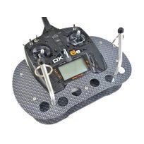RC Modell Technik - PUPITRE CARBON LOOK RADIO DX6e SPEKTRUM