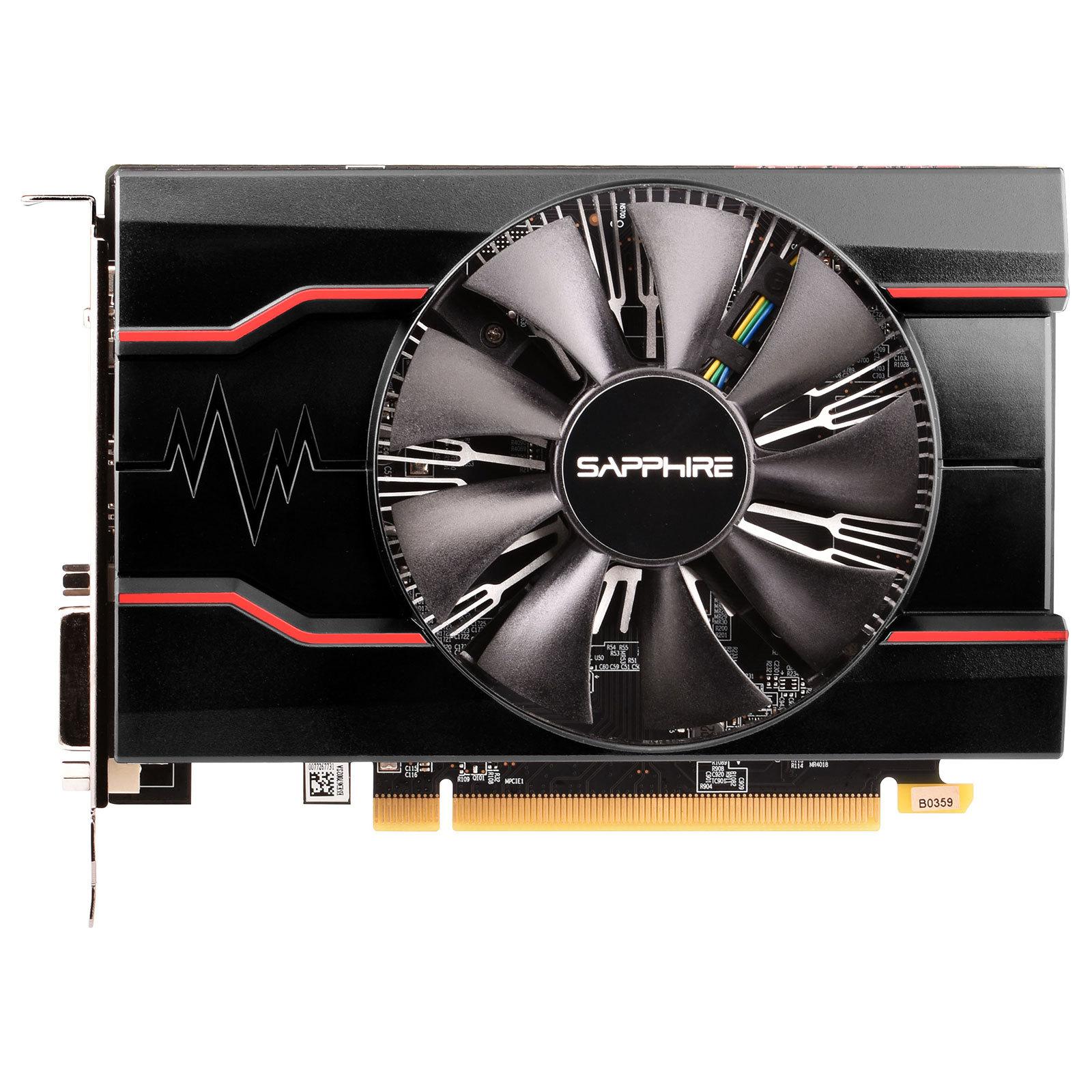 Radeon RX 550 - Single Fan - 2Go