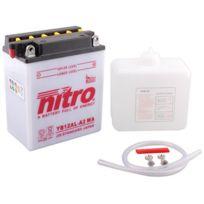 Nitro - Batterie Moto Ouvert avec Pack Acide