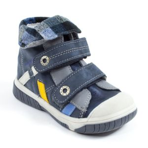Babybotte Boots noir velcro pour garçon ACTEUR6 1O6O2ha2