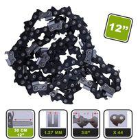 Silex - Lot de 2 chaînes de tronçonneuse ® pour guide 30cm