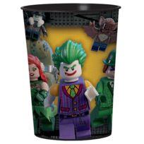 amscan gobelet plastique lego batman x8 - Dessin Anim Lego City