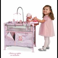 Decuevastoys - Lit dressing aire de jeu pour poupée pliable accessoires inclus