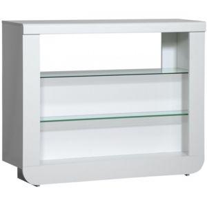 comforium meuble bar blanc laqu design led pas cher achat vente bars rueducommerce. Black Bedroom Furniture Sets. Home Design Ideas