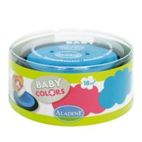Aladine - Stampo Baby Encreurs Turquoise et Rose