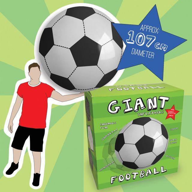 Kas Design Ballon de Football Géant