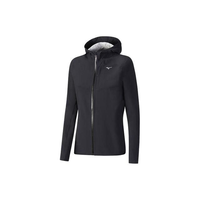 Veste Noire Pour Etanche 20k Waterproof Mizuno Jacket Running 61gIIq