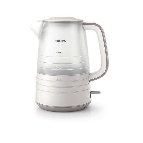 Philips Bouilloire 1.5l - 2200W Daily Collection Blanche Hd9334/20