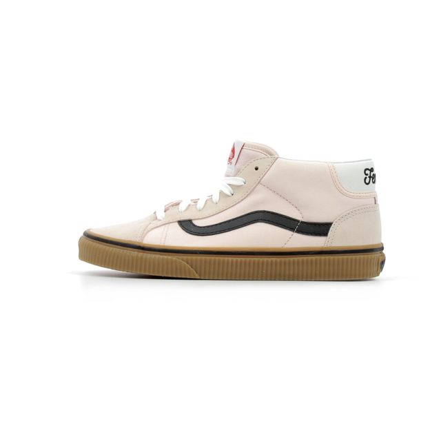Chaussures Mid Vans Suede Power Pack Skool 37 Femme Rose