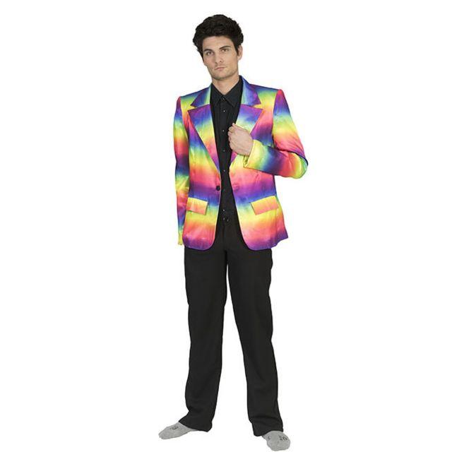 Sans - Veste costume arc-en-ciel homme - taille - Large - 239083 ... f559422e239d