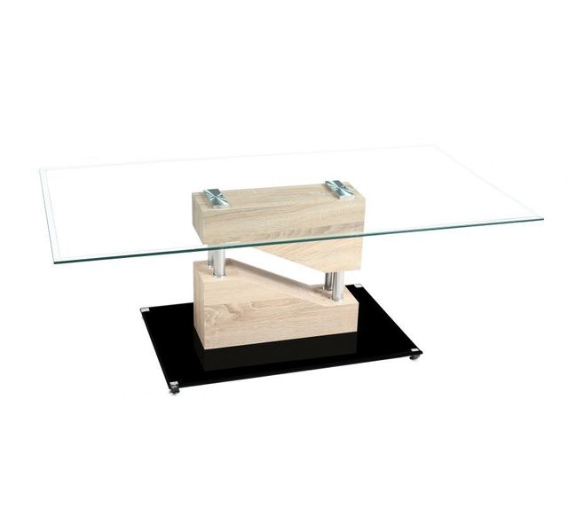 CHLOE DESIGN Table basse design Armela - bois clair