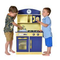 Teamson Kids - Cuisine deluxe -bleu Deluxe cuisine
