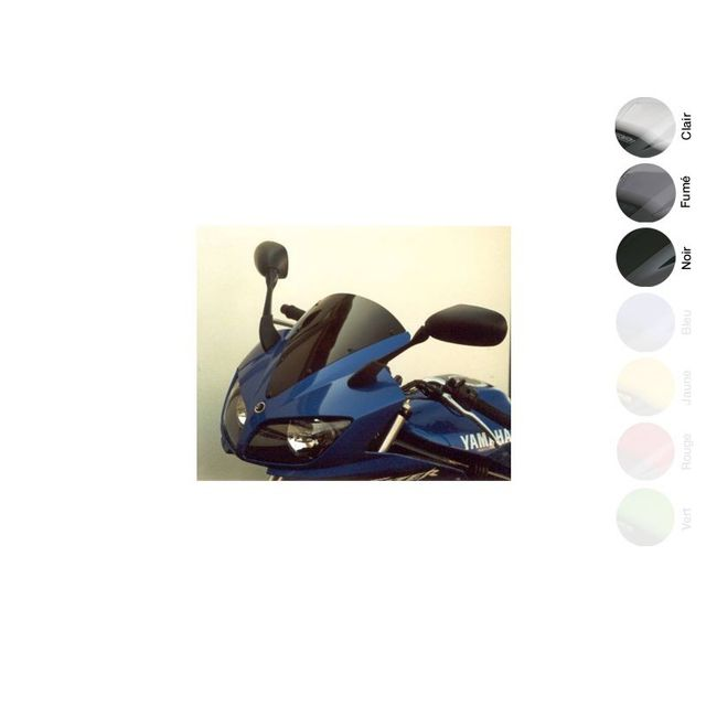 Wacox - Bulle Origine Noire Yamaha Fzs 600 Fazer 2002-2003