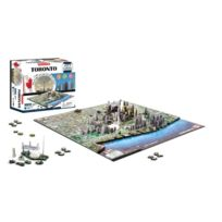 4d cityscape - Ino4DTOR - Puzzle 4D De Toronto