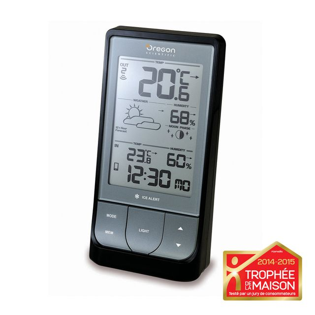 Oregon scientific weather home station m t o avec bluetooth pas cher achat vente station - Station meteo carrefour ...