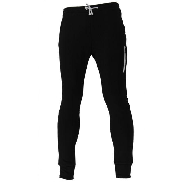 Ellesse - Pantalon de survêtement Eh H - Eh-h-pant-molleton-noir - pas cher  Achat   Vente Survêtement homme - RueDuCommerce 5d7578818d1