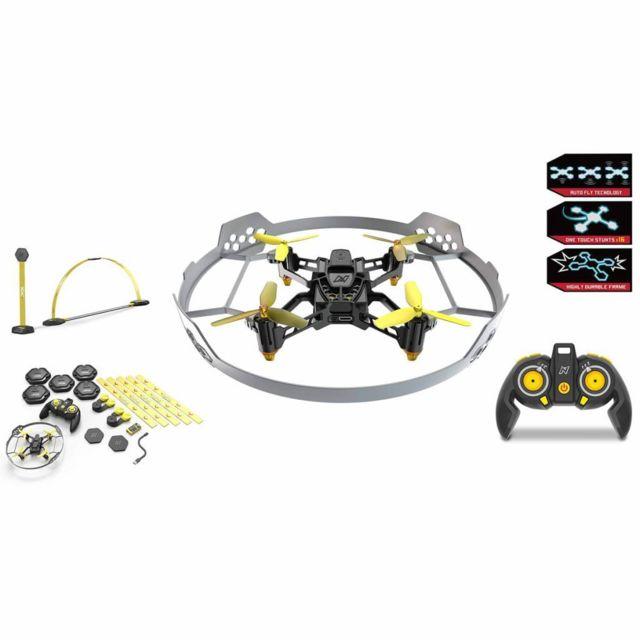 No Name Hélicoptères télécommandés Esthetique Nikko Ensemble de drone de course et piste Air Elite stunt 115 22625