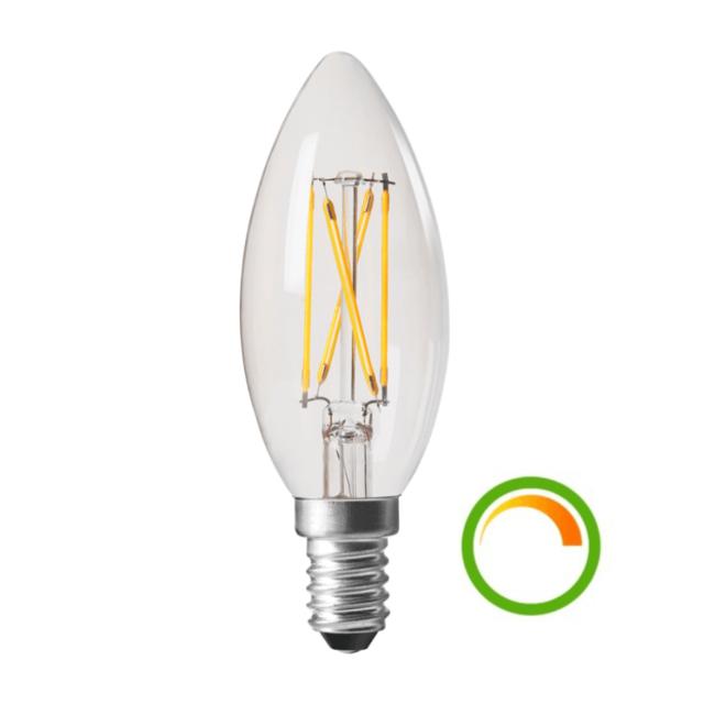 kosilum ampoule led compatible avec variateur culot e14 4w pas cher achat vente ampoules. Black Bedroom Furniture Sets. Home Design Ideas