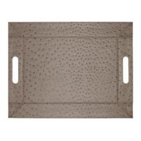 Feel & Co - Plateau-set De Table Autruche - 45 X 35 Cm