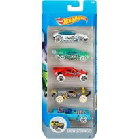 Hot Wheels - Set de 5 Vehicule : Snow Stormers - Mattel Re:Djd21
