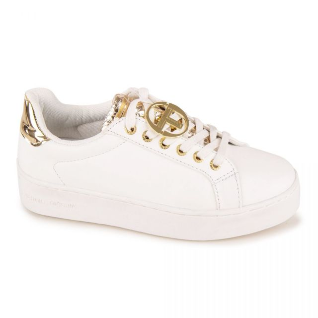 look out for cheap prices utterly stylish Baskets blanches stw914200 gold Femme