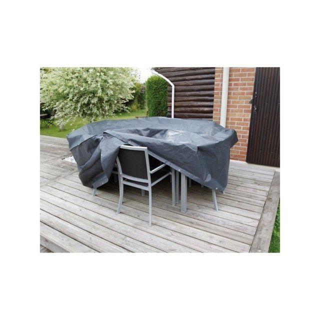 Ubbink - Housse de protection ensemble de jardin avec table ronde et ...