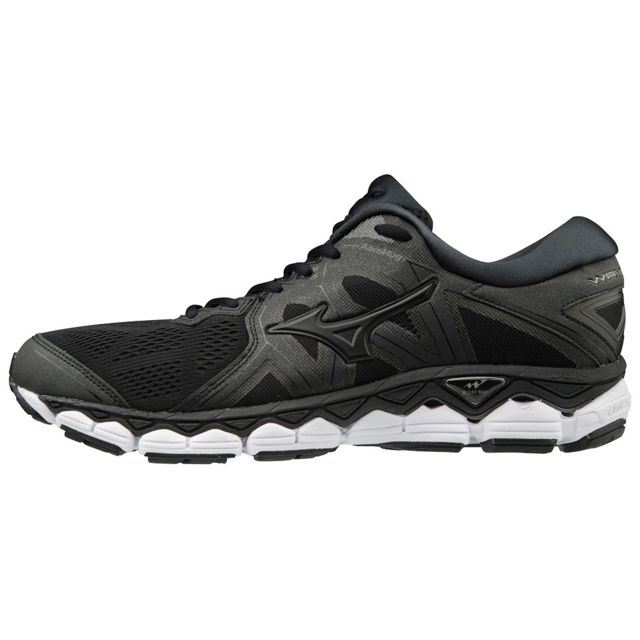 Wave Sky 2 Noire Chaussures de running homme